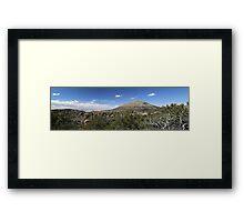 Chiricahua National Monument Panorama Framed Print
