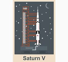 Saturn V (Night) Unisex T-Shirt