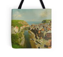 East Coast Village of Staithes Tote Bag