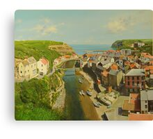 East Coast Village of Staithes Canvas Print