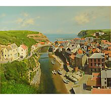 East Coast Village of Staithes Photographic Print
