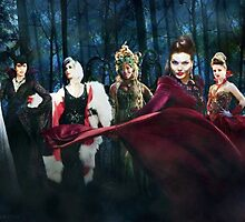 Once Upon A Time Villains by ljanz1