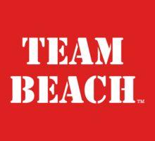 TEAM BEACH Basic Tees, Tanks, & Hoodies (White Text) Kids Clothes