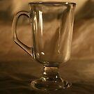 empty glass by Carl deary