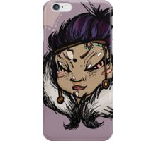 OBERGINE iPhone Case/Skin