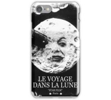 A Trip to the Moon (Le Voyage Dans La Lune)  iPhone Case/Skin