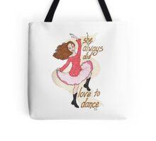 River, Dancing Tote Bag