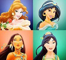Disney Princesses by ljanz1