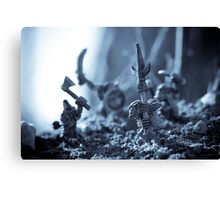 Facing The Enemy Canvas Print