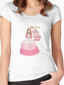 Mighty Fine Shindig Women's Fitted Scoop T-Shirt