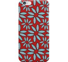 surfboard flowers iPhone Case/Skin