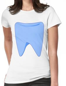 Blue Tooth Womens Fitted T-Shirt