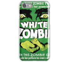 White Zombie (Vintage Movie Poster) iPhone Case/Skin