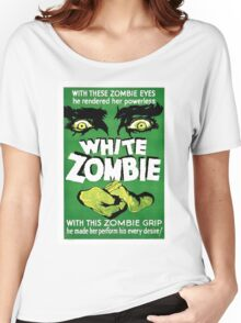White Zombie (Vintage Movie Poster) Women's Relaxed Fit T-Shirt
