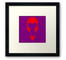 Minimalist Magneto Framed Print