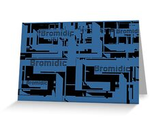 Bromidic Logo Greeting Card