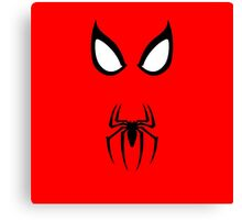 Minimalist Spider-Man Canvas Print