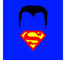 Minimalist Superman Photographic Print