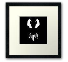 Minimalist Venom Framed Print