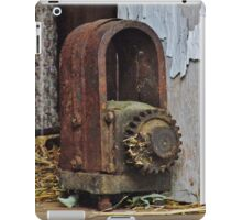 Old Machinery Found in Wisconsin Dairy Barn iPad Case/Skin