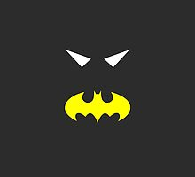 Minimalist Batgirl by Ryan Heller