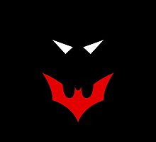 Minimalist Batman Beyond by Ryan Heller