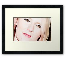 Claudia  Framed Print