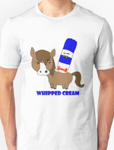 Whipped Cream Unisex T-Shirt