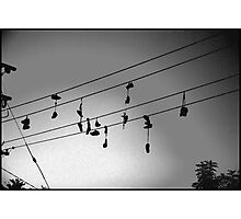 shoes in the sky Photographic Print