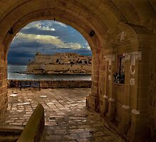 Isla Fortified Secret Passage by Edwin  Catania