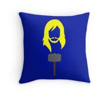 Minimalist Thor Throw Pillow