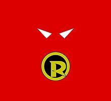 Minimalist Robin by Ryan Heller