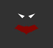 Minimalist Red Hood by Ryan Heller