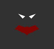 Minimalist Red Hood by Ryan Heller
