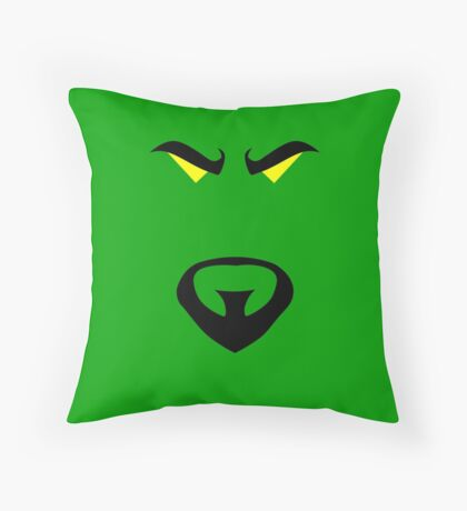 Minimalist Mandarin Throw Pillow