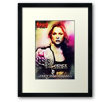 Roudy Ronda Rousey Framed Print