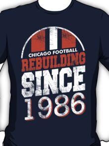 Chicago Football Rebuilding T-Shirt