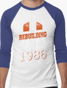 Chicago Football Rebuilding Men's Baseball ¾ T-Shirt