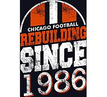 Chicago Football Rebuilding Photographic Print