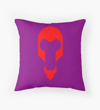 Minimalist Magneto Throw Pillow
