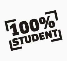 100% Student One Piece - Short Sleeve