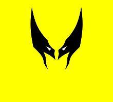 Minimalist Wolverine by Ryan Heller