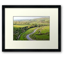 Cuckmere Valley Framed Print