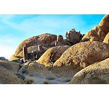 Rock Garden Photographic Print