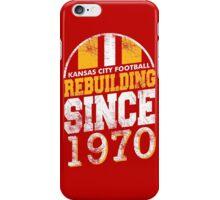 Kansas City Football Rebuilding iPhone Case/Skin