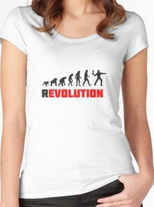 rEVOLUTION Women's Fitted Scoop T-Shirt