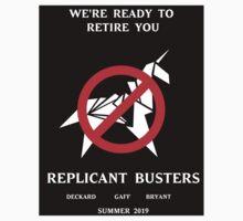 Blade Runner Ghostbuster spoof Kids Tee