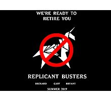 Blade Runner Ghostbuster spoof Photographic Print