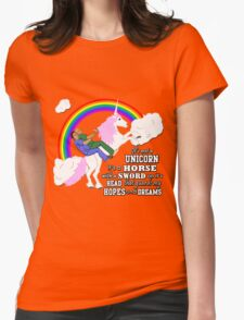 Turkicorn Womens Fitted T-Shirt
