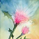 Thistle Surprise by Diane Hall